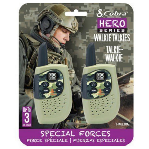 Cobra Hero Fire HM230R|2-way Private Mobile Radio-PMR|WalkieTalkie Radio|3Km|Green Thumbnail 7