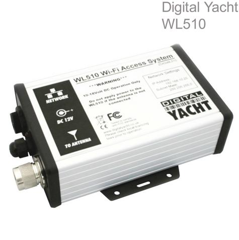 Digital Yacht WL510 HI Power WiFi Access System|Network Connection|10m Cable Thumbnail 1