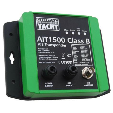 Digital Yacht-AIT1500|Class B Transponder|Built-in GPS Antenna|Connect Pc/Mac  Thumbnail 1