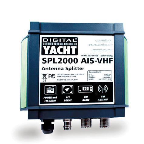 Digital Yacht SPL2000 VHF Antenna Splitter|Class B|AM|FM|VHF|AIS Connection Thumbnail 2