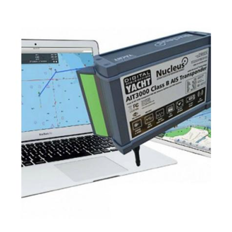 Digital Yacht-AIT3000|Class B AIS Transponder w/Splitter & WIFI|Support iOS/Android/PC & MAC Thumbnail 3