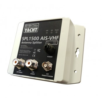 Digital Yacht SPL1500 VHF Antenna Splitter|VHF/AIS Operation|Use With Class B Thumbnail 2