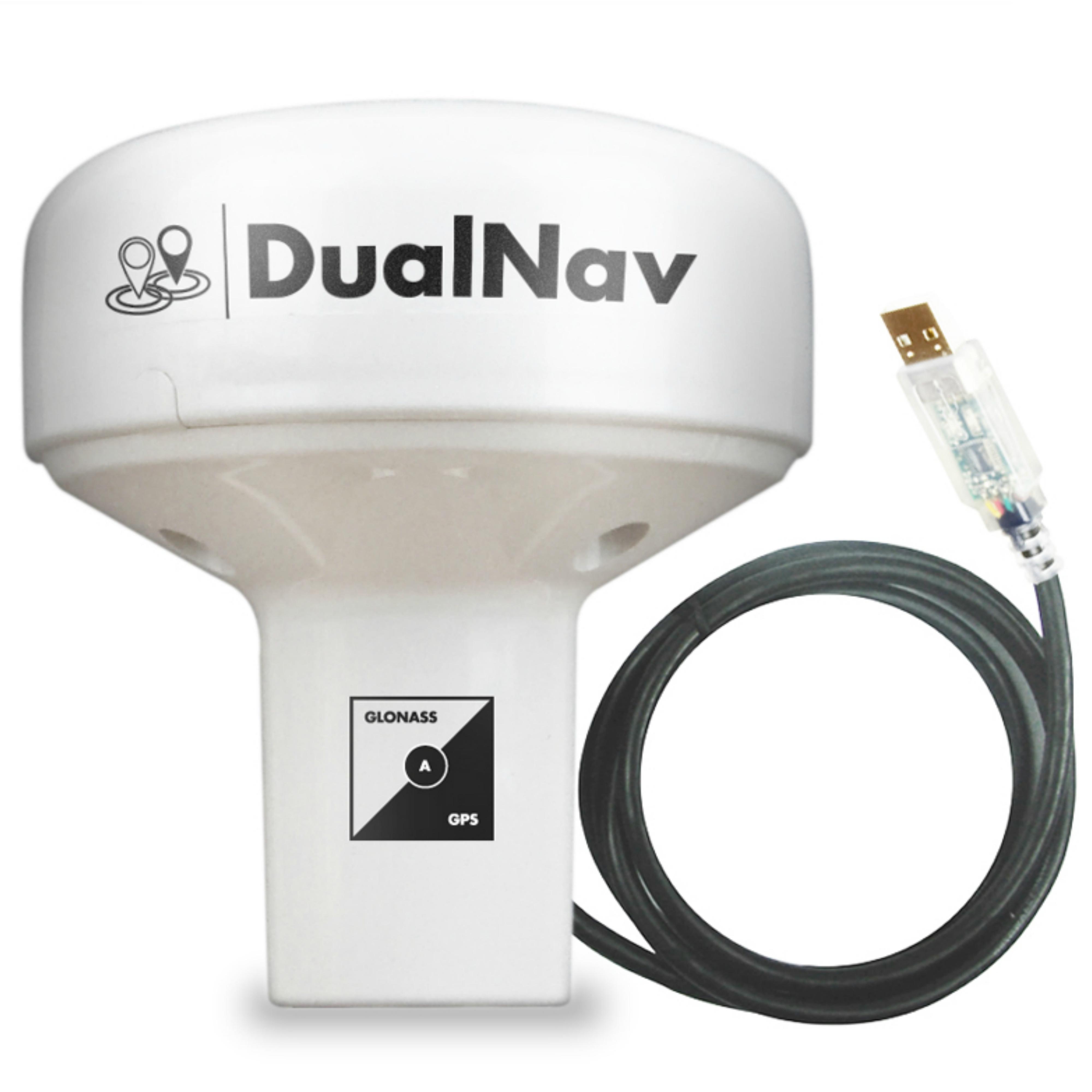 Digital Yacht-GPS150USB|DUALNAV GPS/GLONASS Sensor|Self-Powered via 5m USB cable