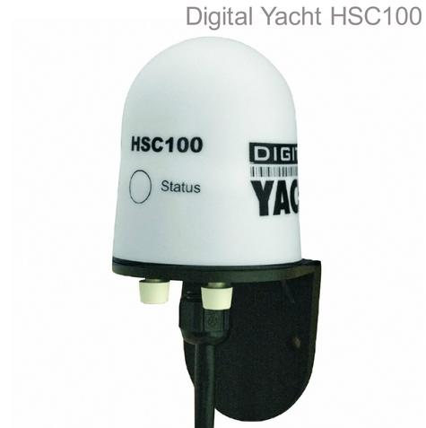 Digital Yacht HSC100 Fluxgate Compass Sensor|Waterproof|HDG Output|45° Degree Thumbnail 1