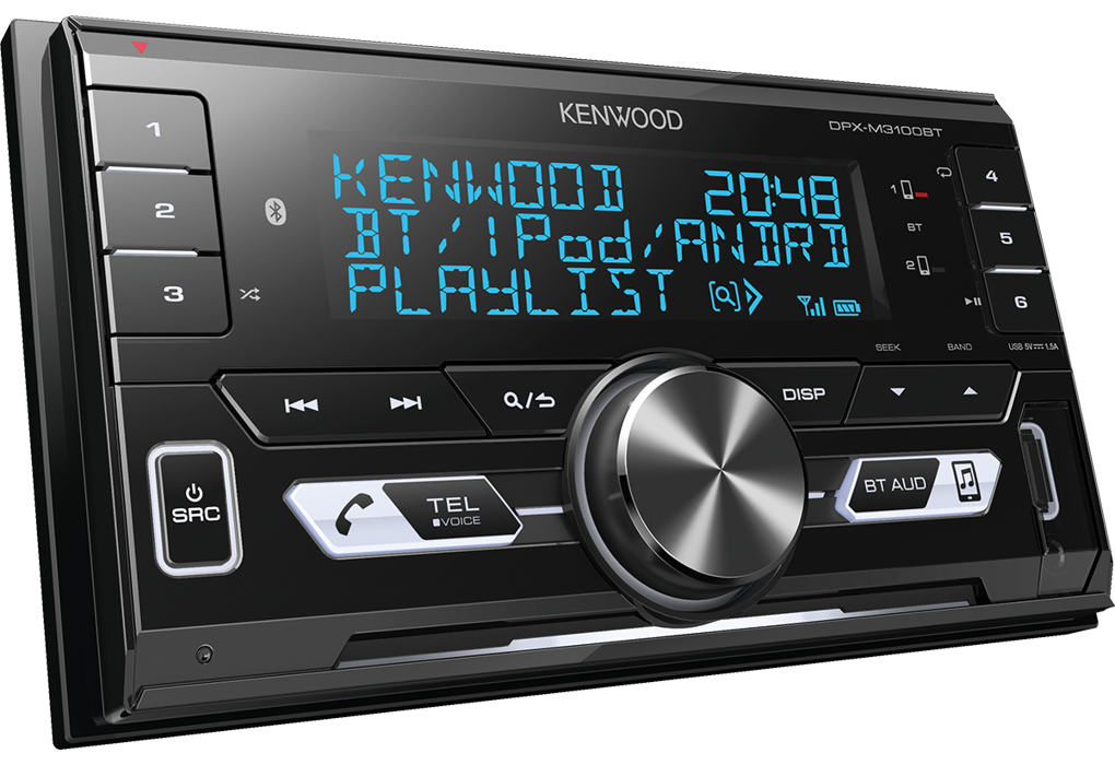 Kenwood Car Stereo|Radio|USB|AUX|Bluetooth|Connect 2 Phones
