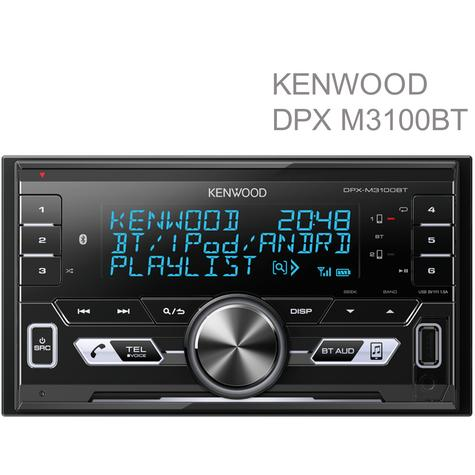 Kenwood Car Stereo|Radio|USB|AUX|Bluetooth|Connect 2 Phones|iPod-iPhone-Android Thumbnail 1