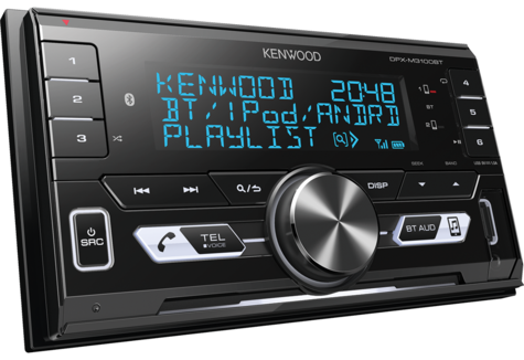 Kenwood Car Stereo|Radio|USB|AUX|Bluetooth|Connect 2 Phones|iPod-iPhone-Android Thumbnail 2