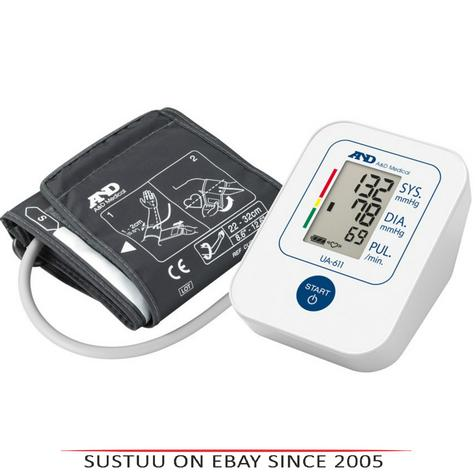 A&D Medical UA611 Upper Arm Blood Pressure Monitor With Digital LCD & 30 Memory  Thumbnail 1