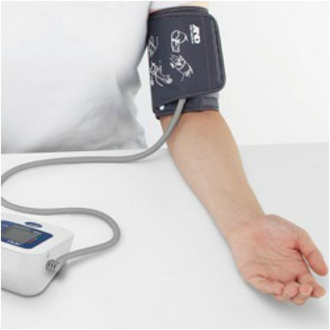A&D Medical UA611 Upper Arm Blood Pressure Monitor With Digital LCD & 30 Memory  Thumbnail 3