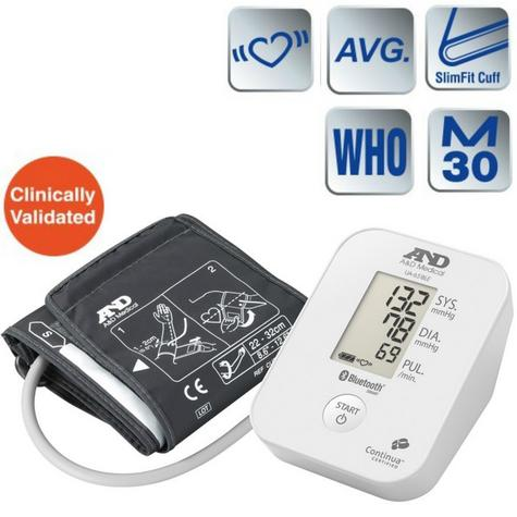 A&D Medical UA651BLE Blood Pressure Monitor|Bluetooth|Smart Sense|Low Energy|New| Thumbnail 1