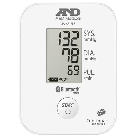 A&D Medical UA651BLE Blood Pressure Monitor|Bluetooth|Smart Sense|Low Energy|New| Thumbnail 6