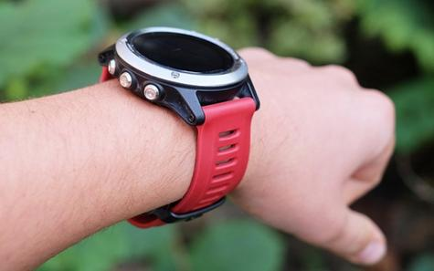 Garmin 010-12168-05|Replacement Smart Watch Strap Band|Fenix 3-Bravo Tactix|Red Thumbnail 5