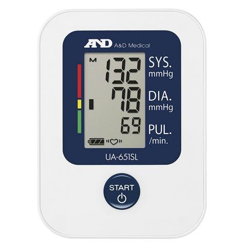 A&D Medical UA651SL Value Upper Arm Blood Pressure Monitor With Slim Fitt Cuff Thumbnail 3
