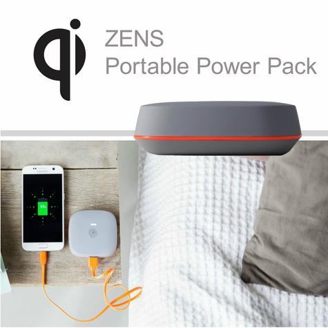 Zens Portable Power Pack/ Bank|Qi Enabled Wireless Charging|Smartphones-Tablets| Thumbnail 2