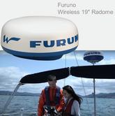 "Furuno DRS4W Wireless 19"" Radome 4kW Radar Waterproof c/w 15m Cable Use in Marine & Yacht"