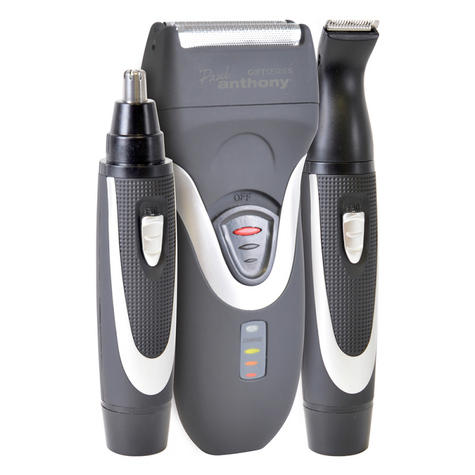Lloytron H5901 New Paul Anthony Battery Operated Shaver|Trimmer|Clipper|Gift Kit Thumbnail 2
