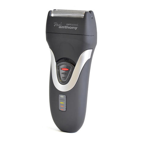 Lloytron H5901 New Paul Anthony Battery Operated Shaver|Trimmer|Clipper|Gift Kit Thumbnail 3