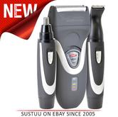 Lloytron H5901 New Paul Anthony Battery Operated Shaver|Trimmer|Clipper|Gift Kit