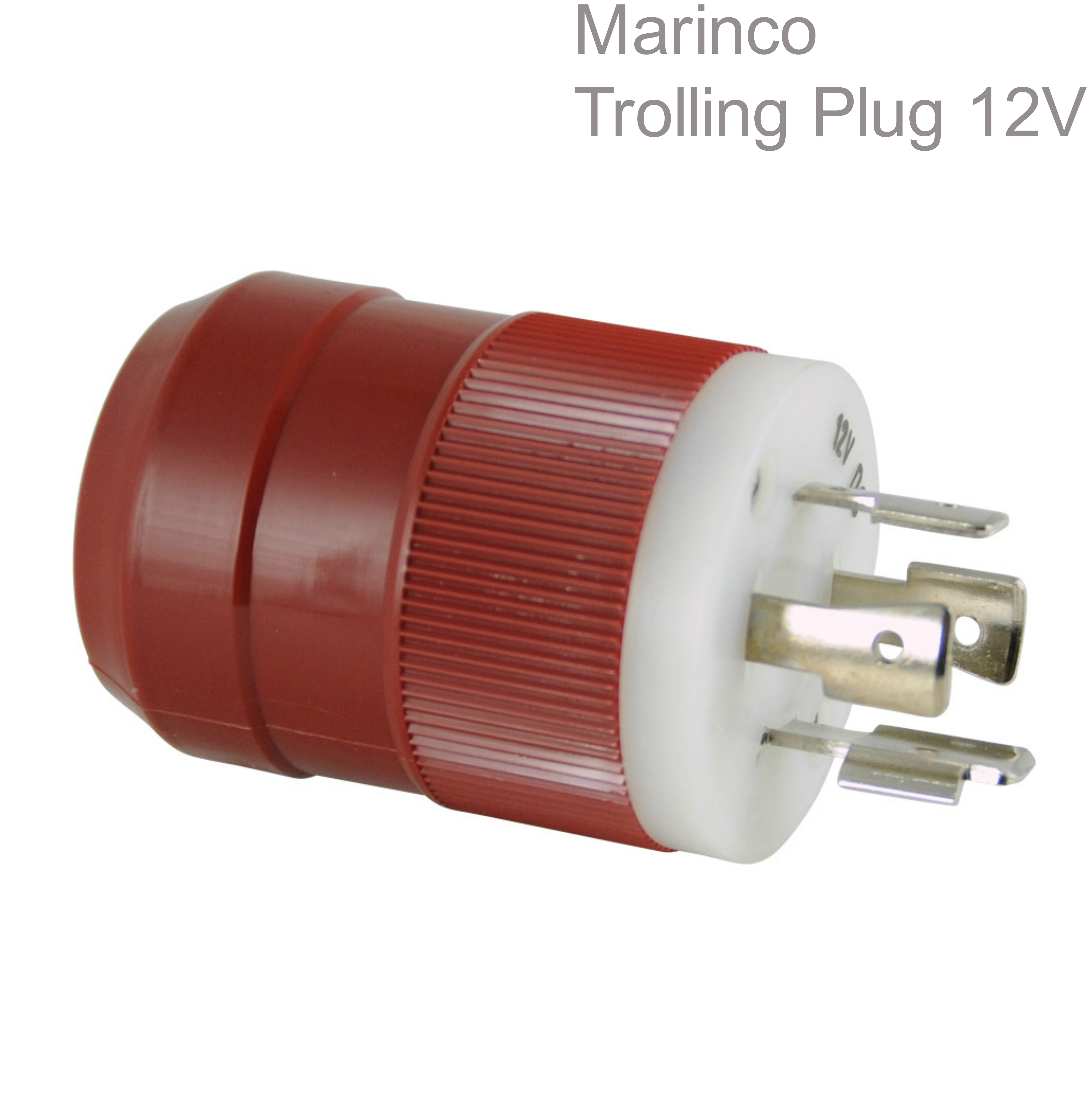 Marinco Trolling Plug 12V|4-Wire System|Allow 2 Batteries|Simultaneous|In Marine