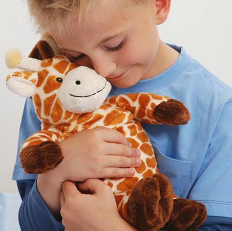 Aroma Home AROCCHGIR Home Microwaveable Giraffe Cozy Hottie Fragranced|Lavender| Thumbnail 3
