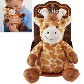 Aroma Home AROCCHGIR Home Microwaveable Giraffe Cozy Hottie Fragranced|Lavender|