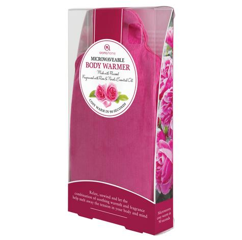 Aroma Home AROCORBW Perfect Body Warmer Fuschia With New Rose & Neroli Fragrance Thumbnail 3