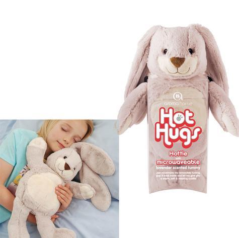 Aroma Home Bunny Microwaveable Hot Hug Body Warmer With New Super Soft Fabrics Thumbnail 1