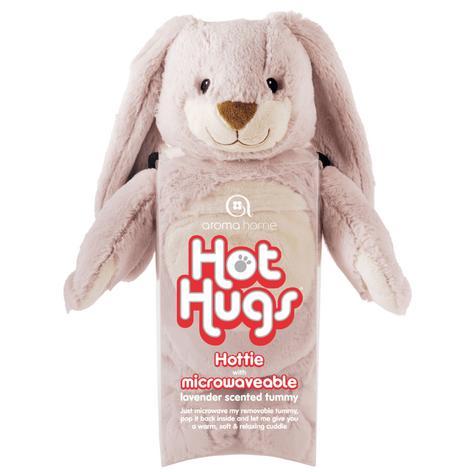 Aroma Home Bunny Microwaveable Hot Hug Body Warmer With New Super Soft Fabrics Thumbnail 2
