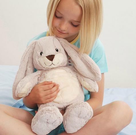 Aroma Home Bunny Microwaveable Hot Hug Body Warmer With New Super Soft Fabrics Thumbnail 4