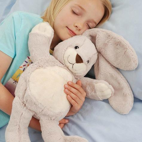 Aroma Home Bunny Microwaveable Hot Hug Body Warmer With New Super Soft Fabrics Thumbnail 5