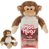 Aroma Home Toy Monkey Microwaveable Hot Hug With Lavender Fragrance Tummy Insert