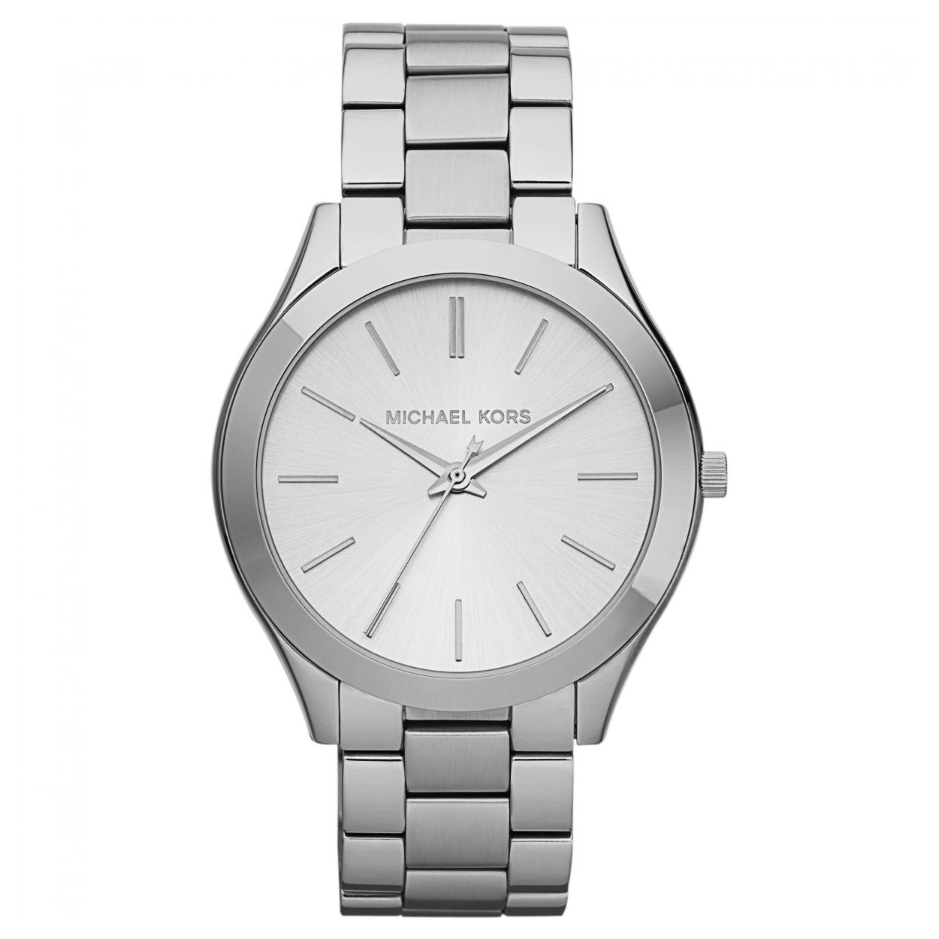 Michael Kors Runway Ultra Slim Women Watch|Silver Tone Dial|Bracelet Band|MK3178
