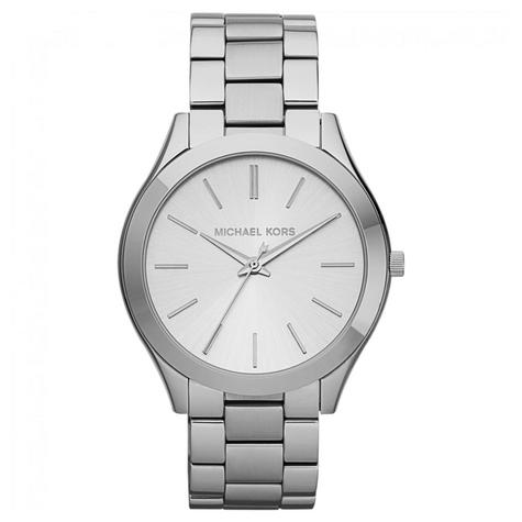 Michael Kors Runway Ultra Slim Women Watch|Silver Tone Dial|Bracelet Band|MK3178 Thumbnail 1