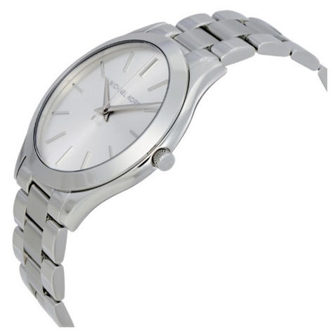 Michael Kors Runway Ultra Slim Women Watch|Silver Tone Dial|Bracelet Band|MK3178 Thumbnail 2