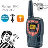 Cobra Adventure AM845|2way Private Mobile Radio-PMR|WalkieTalkie Radio|10Kg|Black