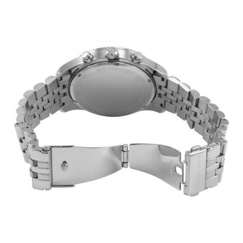 Michael Kors Lexington Men's Watch Chronograph Blue Dial Bracelet Strap MK8280 Thumbnail 3