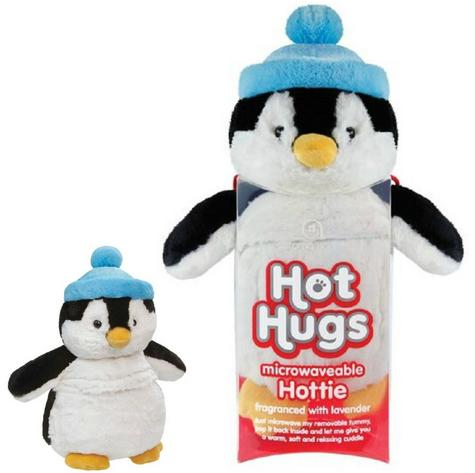 Aroma Home Hot Hug Microwaveable Soft Toy Penguin With New Lavender Tummy Insert Thumbnail 1