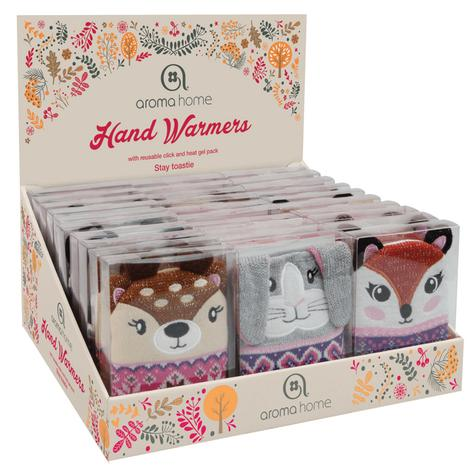 Aroma Home Knitted Single Hand Warmers Woodland Friends|Deer|Rabbit|Fox| Thumbnail 1