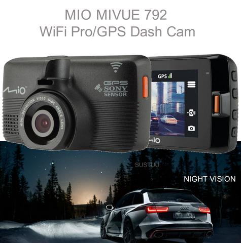 Mio MiVue 792 Profit|Car Dash Camera|Night Vision|Wi-Fi|GPS Eyewitness-Accident Recording Thumbnail 1