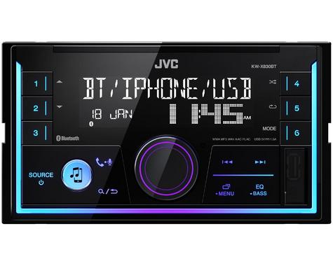 JVC Digital Media Receiver|2DIN RDS|MP3|USB|Aux|Bluetooth|iPod-iPhone-Android Thumbnail 2