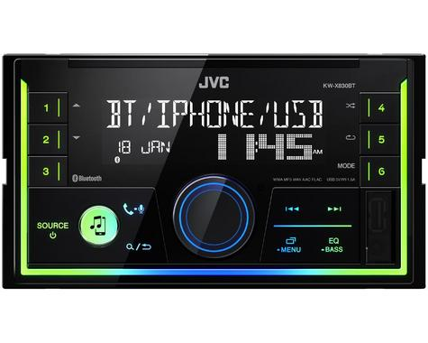 JVC Digital Media Receiver|2DIN RDS|MP3|USB|Aux|Bluetooth|iPod-iPhone-Android Thumbnail 3