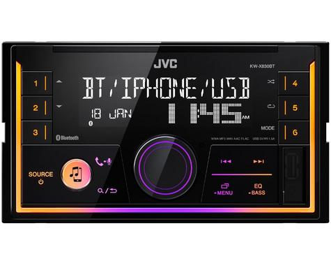 JVC Digital Media Receiver|2DIN RDS|MP3|USB|Aux|Bluetooth|iPod-iPhone-Android Thumbnail 4