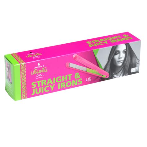 Lee Stafford?Women's?Ubuntu Oil?Straight & Juicy Irons?Digital Hair Straightener Thumbnail 2