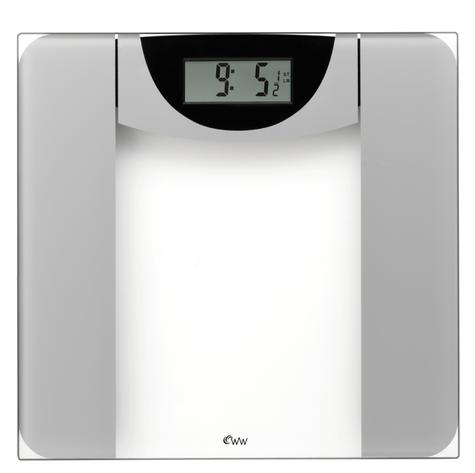 Weight Watchers BAB8924U Ultra Slim Designer Glass Scale Thumbnail 1