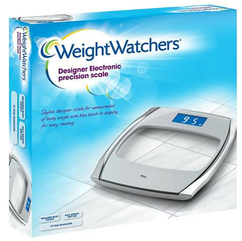 Weight Watchers Designer Electronic Precision Stylish Scale With Digital Display Thumbnail 5