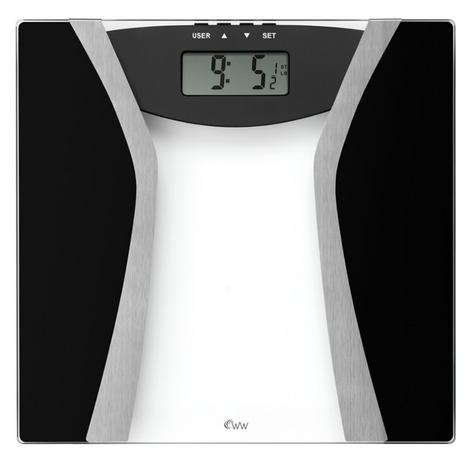Weight Watchers Ultimate Body Tracker Scale With 30mm Large Digital Display Thumbnail 1