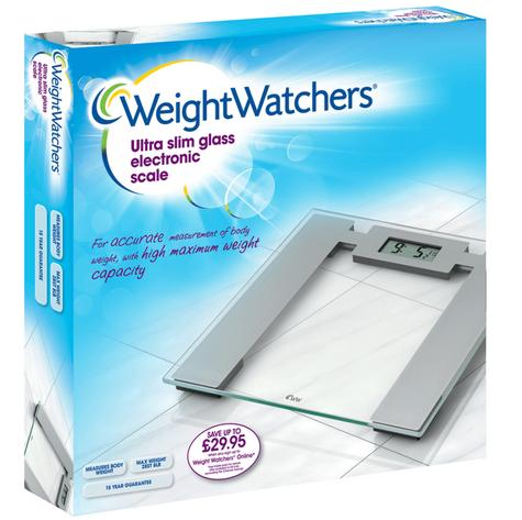Weight Watchers BAB8950U Easy Read Ultra Slim Scale With 30mm Digital Display Thumbnail 3