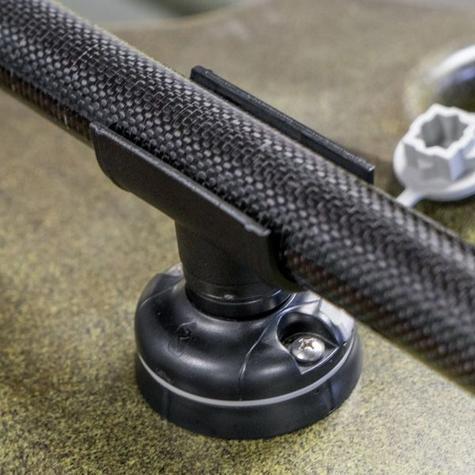 Railblaza QuickGrip Paddle Clip 28mm Star Mount|Store|For Kayak & SUP Paddles Thumbnail 3