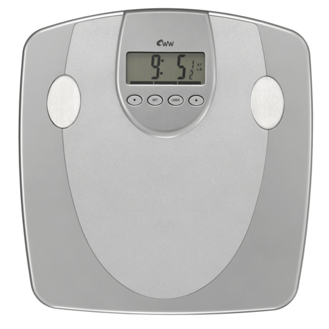 Weight Watchers Body Analyser Scale|33mm Display|5 Fitness Level|10 User Memory| Thumbnail 2