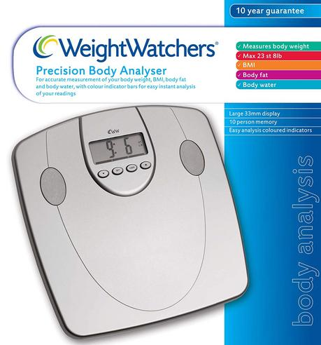 Weight Watchers Body Analyser Scale|33mm Display|5 Fitness Level|10 User Memory| Thumbnail 4